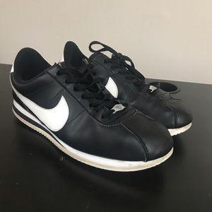 Black Nike Cortez